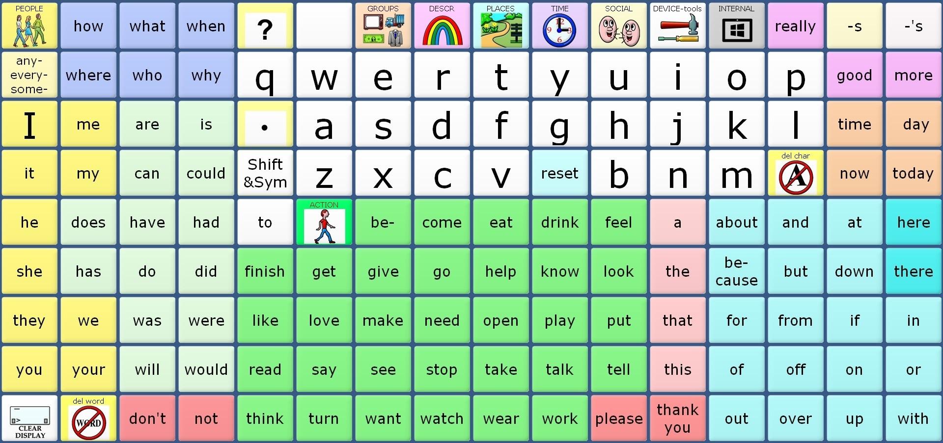 WordPower 144 with Keyboard