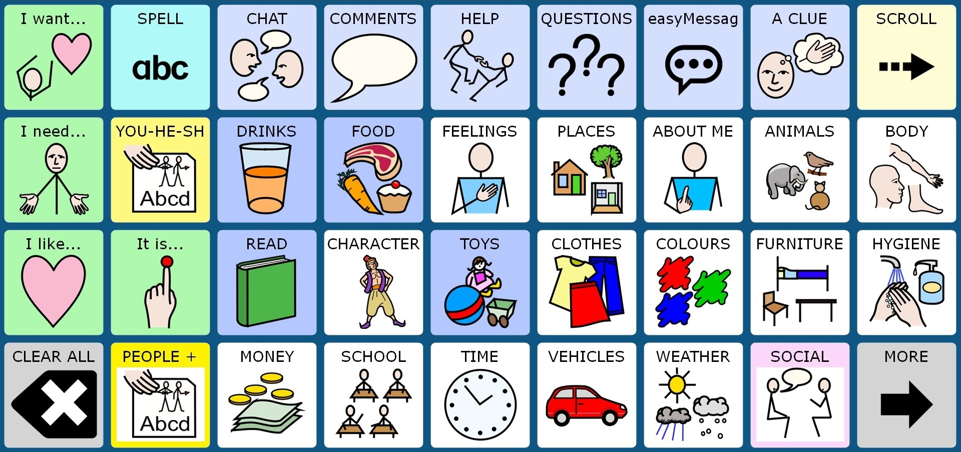 easyChat Phrases 36 WS