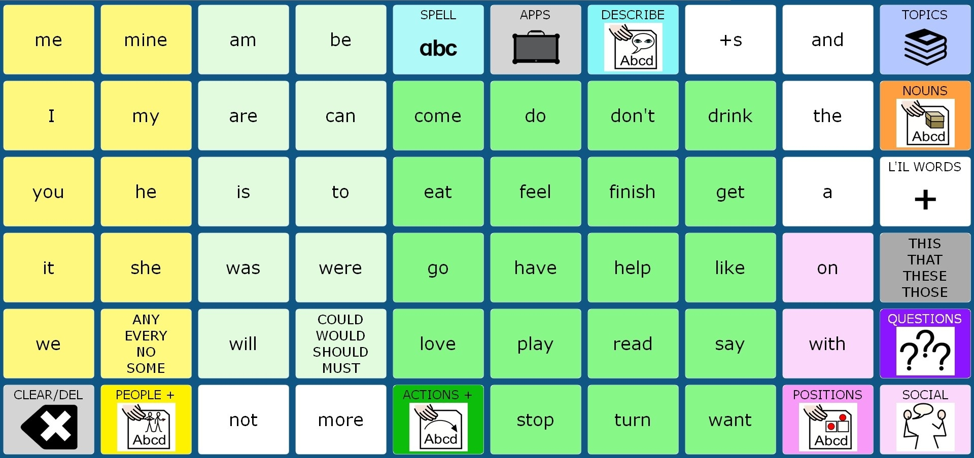 easyChat Words 60
