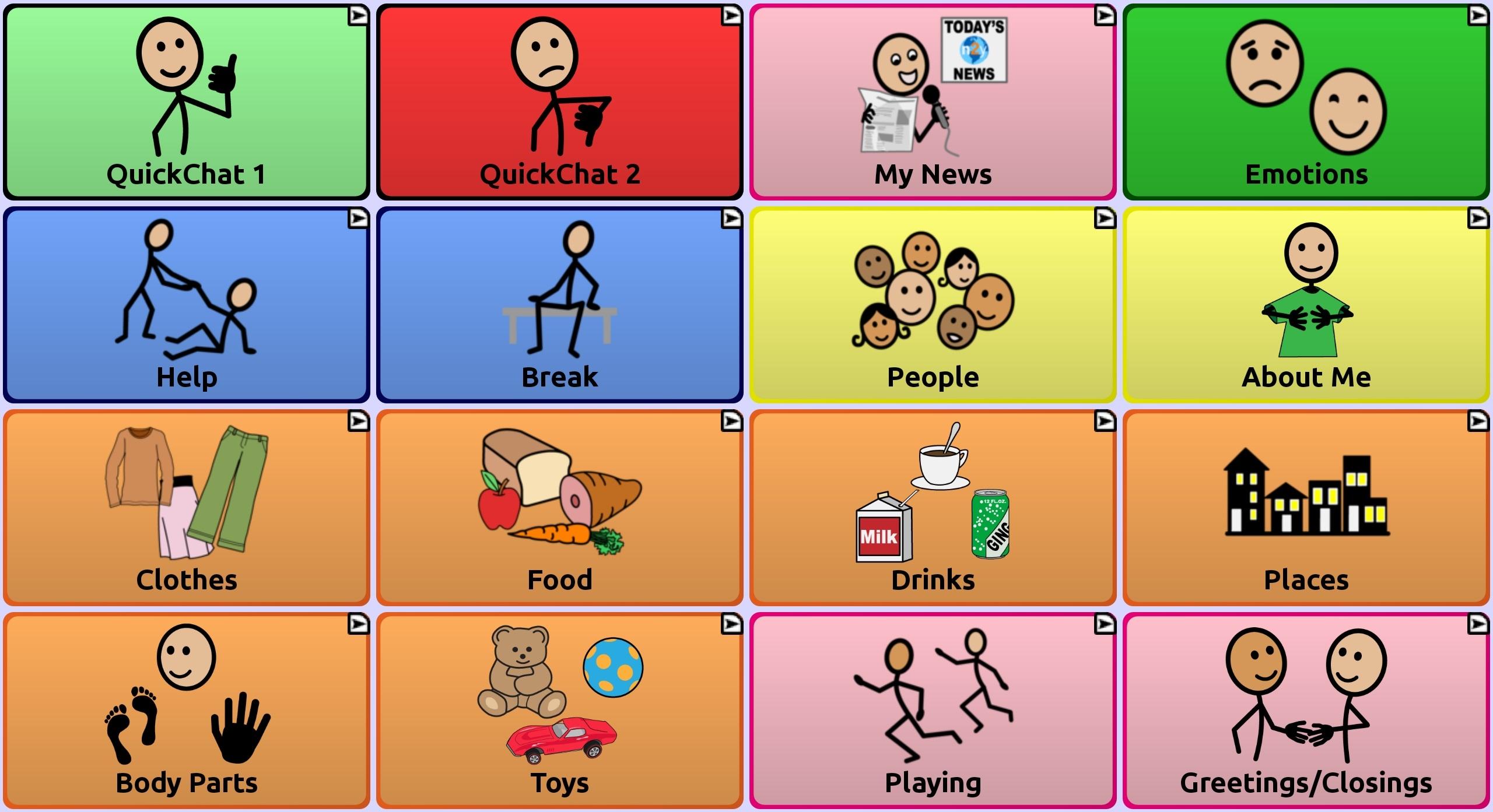 myQuickChat 12 Child