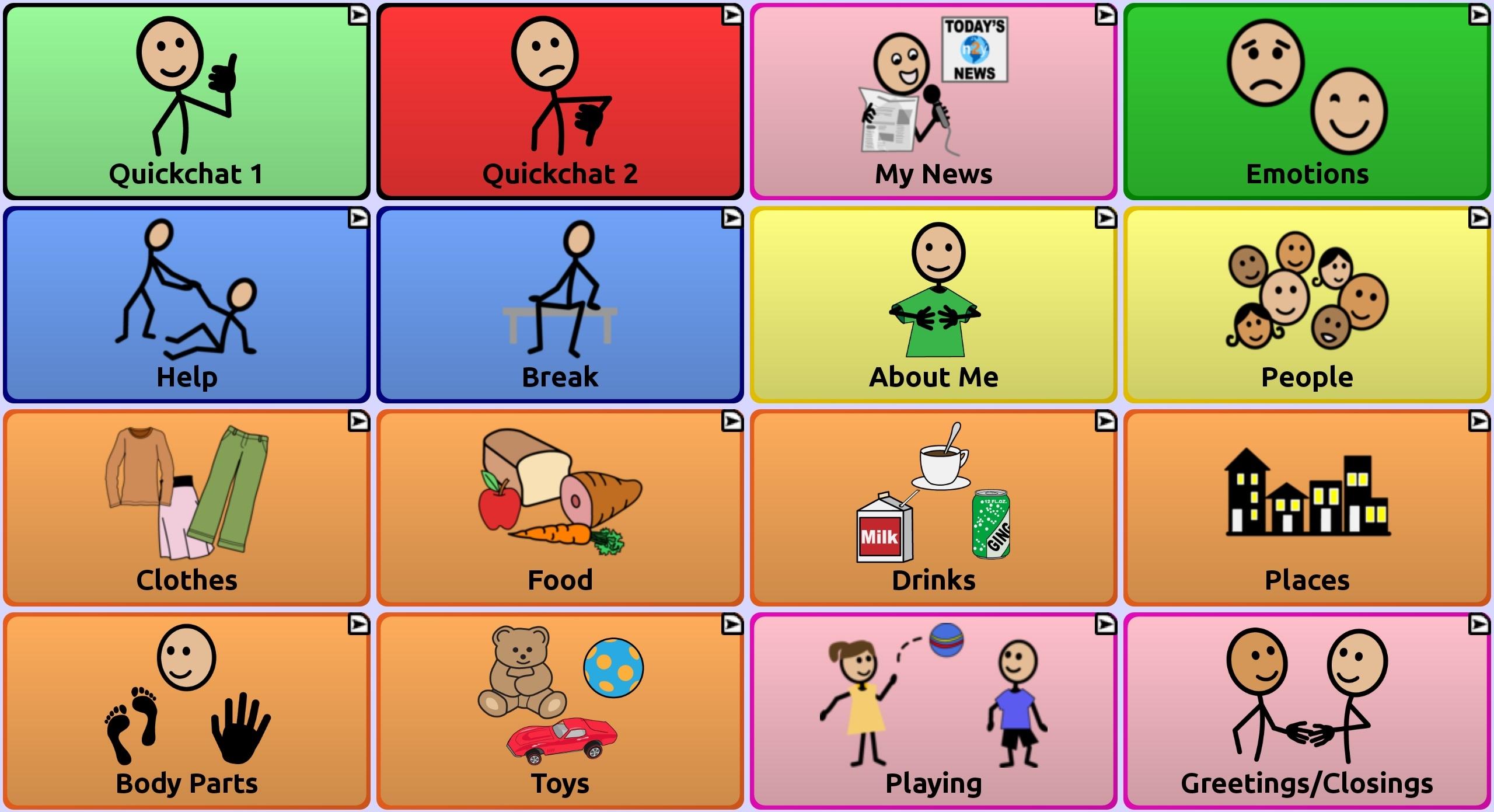 myQuickChat 4 Child